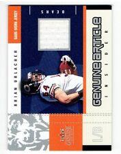 b4857de186f Brian Urlacher 2003 Fleer Genuine Insider Genuine Article Jersey Card #GABU