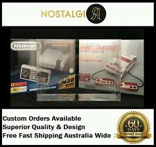 1× BOX PROTECTOR FITS NINTENDO MINI NES / FAMICOM BOX / HIGH QUALITY THICK PET