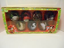 Disney 'Nightmare Before Christmas 7pc. Bulb Ornament Set'  Sally & Jack  NIB