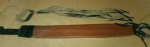 Vintage Busquese Esta Marca Sword Machete Knife With Leather Sheath SOLD AS IS!