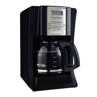 Mr. Coffee Advanced Brew 12-Cup Programmable Coffee Maker Black/Chrome,