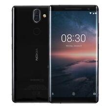 Nokia 8 Sirocco 128GB 6 GB RAM TA-1005 Factory Unlocked - Black