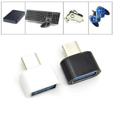 2Pcs USB-C Android OTG Adapter Micro Type C Converter USB Male To USB Female3C