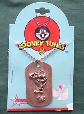 Looney Tunes Tazmanian Devil Necklace, Warner Bros 1998 by Starline