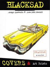 PORTFOLIO BLACKSAD COVERS & Art Prints - Guarnido Diaz Canales - Granit Associes