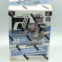 2020 NFL Donruss Football Trading Card Blaster Box NEW SEALED! Burrow Tua
