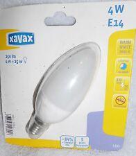 XAVAX LED LAMPE E14 warmweiß 4W Kerze 250 lm Leuchtmittel Licht LED-Lampe 1A NEU