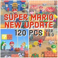 Super Mario Update -  120pcs Items Animal Crossing:New Horizons 1.8.0 *DEL NOW*