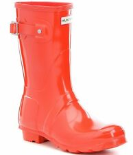 Women's Hunter '' Short' Gloss Rain Boot Sz 8 M