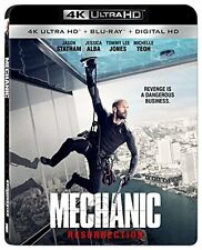 THE MECHANIC: RESURRECTION - 4K ULTRA HD / BLU-RAY -JASON STATHAM- JESSICA ALBA