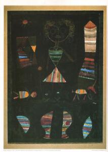 PAUL KLEE - PUPPET THEATRE * VERY RARE PRINT 1990