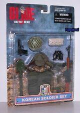 "35 Years GI Joe Battle Gear Korean Soldier Set For 12"" 1/6 Figure Hasbro 1998"