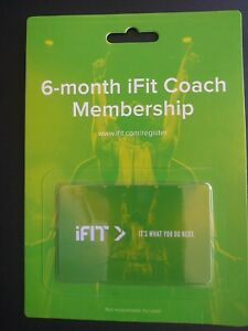 6 Month iFit Coach Membership Family