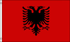 """ALBANIA"" 2x3 ft flag polyester"