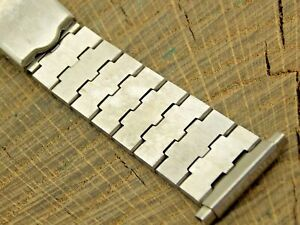 Timex Vintage NOS Unused Watch Band Deployment Stainless 18mm-24mm Bracelet