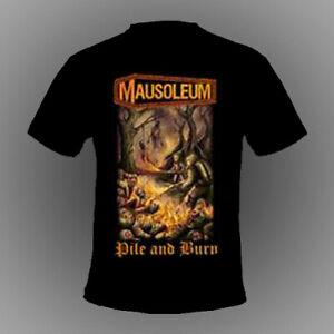MAUSOLEUM - Pile and Burn [TSHIRT]