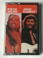 Willie Nelson Eddie Rabbitt Cassette Singer Songwriters 1989 CBS Tape