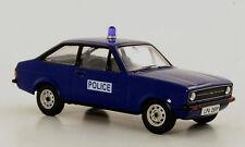 """wonderful modelcar FORD ESCORT MKII 1.1 RHD """"SURREY POLICE"""" 1976 -darkblue- 1/43"""