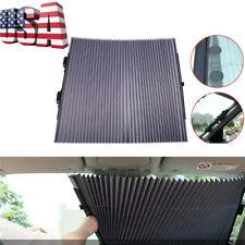 65x150cm Retractable Car Windshield Sun Visor Curtain UV Protection US Shipping