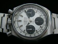 VTGE CITIZEN BULLHEAD 8110 PANDA OCTAGON CHRONOGRAPH WATCH. FULLY ORIGINAL. 70s.