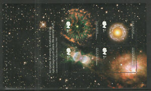 GB 2002 pane MS2315a from SG DX29 Across the Universe Prestige Booklet - MNH