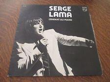 33 tours SERGE LAMA l'enfant au piano