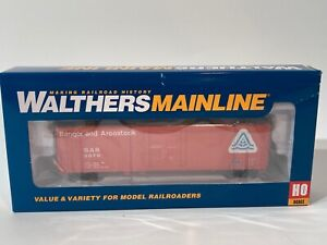 HO Scale Walthers Mainline 50' FGE Insulated Boxcar Bangor #9070 910-2042