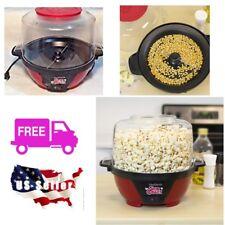 Popcorn Machine Popper Maker Oil Pop 6 qt Bowl Fast Dishwasher Safe Off Switch N