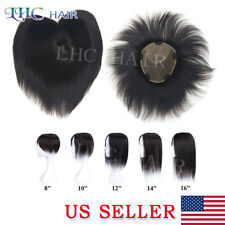 US Women Topper Hairpiece For Thinning Hair Clip In Women  OMBRE Top Remy Hair