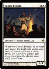 KABIRA EVANGEL Zendikar MTG White Creature — Human Cleric Ally RARE