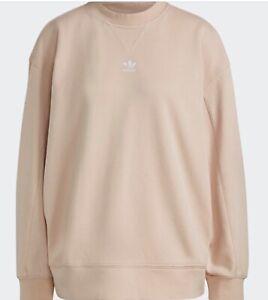 Adidas Peach Sweatshirt Size 12 BNWT RRP £38