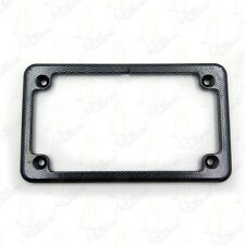 Motorcycle License Plate Frame - Carbon Fiber