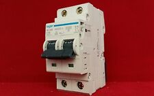 HAGER NC220 463220 20A 20AMP C TYPE C20 DOUBLE POLE DP 2P MCB FUSE SWITCH
