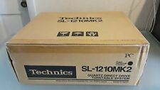 technics SL-1210MK2-PC Direct Drive1200MK2 REAL BRAND NEW NEVER USED TURNTABLE