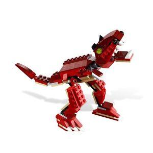PREHISTORIC HUNTERS, Lego 6914, CREATOR: CREATURE, Audited & 100% Complete!