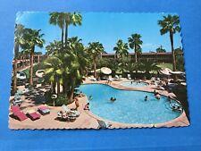 Vintage Postcard Post Card Safari Hotel Scottsdale Arizona 1979 Pool Swingin'