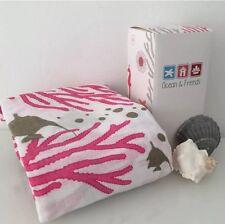 SALE - Organic Muslin Swaddle Wrap Blanket - Coral Rose