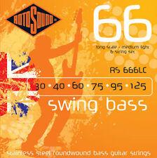ROTOSOUND RS-666LC - Cordiera per basso 6 corde (0.30-1.25)