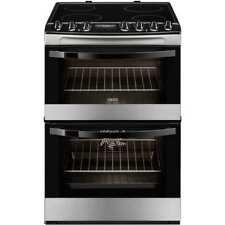 Zanussi ZCV68310XA Avanti Free Standing Electric Cooker with Ceramic Hob 60cm
