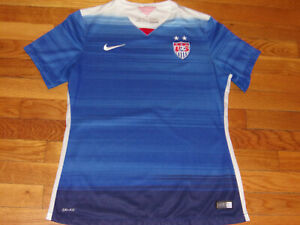 NIKE DRI-FIT US SOCCER JERSEY GIRLS LARGE 14-16 EXCELLENT CONDITION