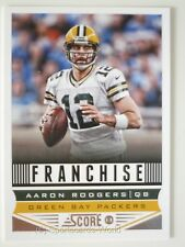 AARON RODGERS  - Score 2013 Franchise #278 (Green Bay PACKERS) NFL Playercard