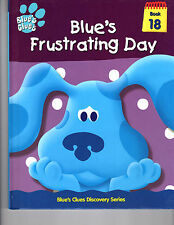 Blue's Clues - Blue's Frustrating Day, Book #18 (2000) [new]