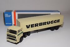 ± LION CAR DAF 2800 TRUCK WITH TRAILER VERBRUGGE NEAR MINT BOXED