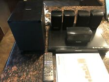 Panasonic SC-XH70 DVD Home Theater Sound System - 5.1 Channels 400W COMPLETE
