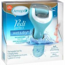 Amope Pedi Perfect Wet Dry Rachargeable Foot File BRAND NEW!