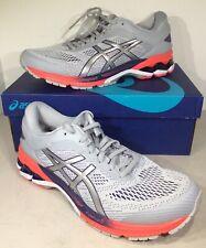 Asics Gel-Kayano 26 Women's Size 12D Piedmont Grey/Silver Running Shoes X4-602
