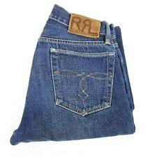 RRL Double RL Ralph Lauren Japan Woven Selvedge Denim Button Fly Jeans 29X30
