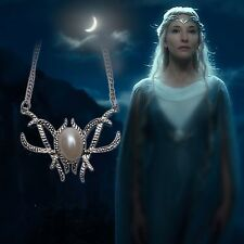 New Lord Of The Rings LOTR The Hobbit Galadriel Royal Elven Elf Necklace