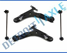 New Front Lower Control Arm Set & Sway Bar End Links for 01-06 Hyundai Santa Fe