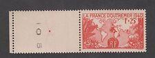 France -Timbres neufs ** La France d'Outre-Mer -N° 453 Bord de feuille -1940 -TB